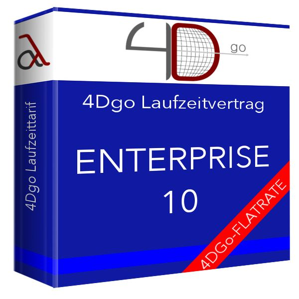 4Dgo ENTERPRISE10 Tarif